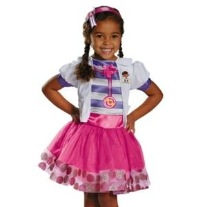 NWT Doc McStuffins Halloween Costume Disney Jr 2T
